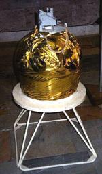 Skákající robot, který byl součástí sovětské sondy Fobos 2.