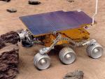 Americký robot Sojourner, dopravený na Mars sondou Pathfinder.