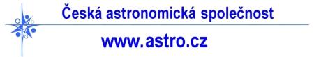 Česká astronomická společnost - www.astro.cz