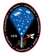 Logo mise STS-125