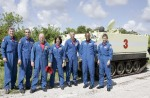 Astronauti u transportéru č. 3