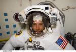 Andrew Feustel před kosmickým výstupem