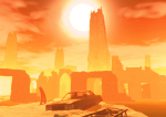 Apokalyptická zář Slunce