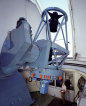 1,5m dánský dalekohled na La Silla