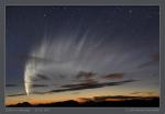 Kometa C/2006 P1 McNaught na jižní obloze v lednu 2007. Foto: M. Druckmüller.