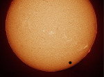 Přechod Venuše v roce 2004. Foto: Stefan Seip.