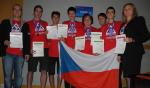 Finalisté 17. mezinárodní astronomické olympiády v Koreji. Autor: ČAS.