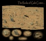 sol 100: Rocks of Gale crater Autor: NASA/JPL-Caltech/Stuart Atkinson