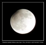 Zatmění Měsíce 25.4.2013. Autor: Roman Krejčí