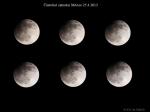 částečné zatmění Měsíce. Autor: Jan Sládeček