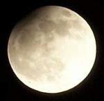 Částečné zatmění Měsíce. Autor: Martin Handlíř