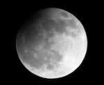 Částečné zatmění Měsíce. Autor: Hana Němečková