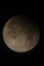 Zatmění Měsíce 25.4.2013. Autor: Milan Zigo