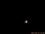 Zatmění Měsíce - timelapse. Autor: Luděk Vašta