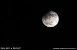 Částečné zatmění Měsíce. Autor: Jaromír Zelenka