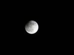 Čiastočné zatmenie Mesiaca. Autor: Jozef Kováč