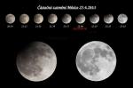 Zatmění Měsíce 25.4.2013. Autor: Martin
