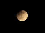 Částečné zatmění Měsíce. Autor: Marek Trizuljak