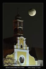 Zatmění Měsíce v Polici nad Metují. Autor: Libor VACEK