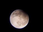 Částečné zatmění Měsíce . Autor: Lenka Samková