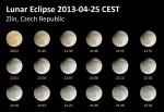 Částečné zatmění Měsíce. Autor: Pavel Stržínek