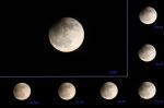 Částečné zatmění Měsíce. Autor: Jiří Babický