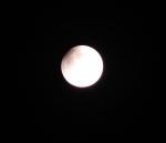 Zatmění Měsíce a planeta Uran. Autor: Jana Herzinová
