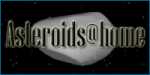 Logo Asteroids@Home. Autor: Czech National Team.