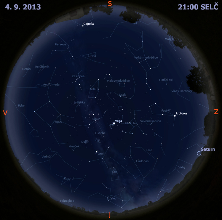 Obloha Aktualne Na Obloze Astronomicky Informacni Server Astro Cz