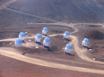 Radioteleskop Submillimeter Array Autor: The Submillimeter Array, Hawaii