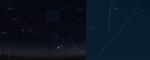 Komety Lovejoy a LINEAR v 6. týdnu 2014 na ranní obloze. Mapka pomocí programů Stellarium a Guide Autor: Martin Gembec