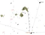 Kometa 2014 E2 Jacques ve 30. týdnu 2014, data: Guide Autor: Martin Gembec