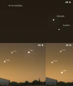 Planety a Měsíc ve 34. týdnu 2014. Data: Stellarium Autor: Martin Gembec