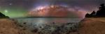 Galaktická velryba nad jižním Pacifikem. Autor: Petr Horálek.