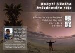 Přednáška: Dobytí jižního hvězdnatého ráje. Foto: Hvězdárna VM.