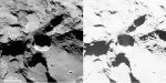 Aktivní jáma na povrchu jádra komety 67P Autor: ESA/Rosetta/MPS for OSIRIS Team MPS/UPD/LAM/IAA/SSO/INTA/UPM/DASP/IDA