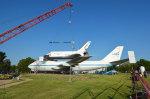 Instalace Independence na letadlový nosič Autor: collectSPACE