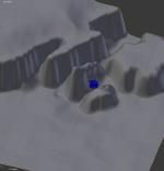 Vizualizace možné polohy Philae v místě přistání Autor: ESA/Rosetta/Philae/CNES/FD