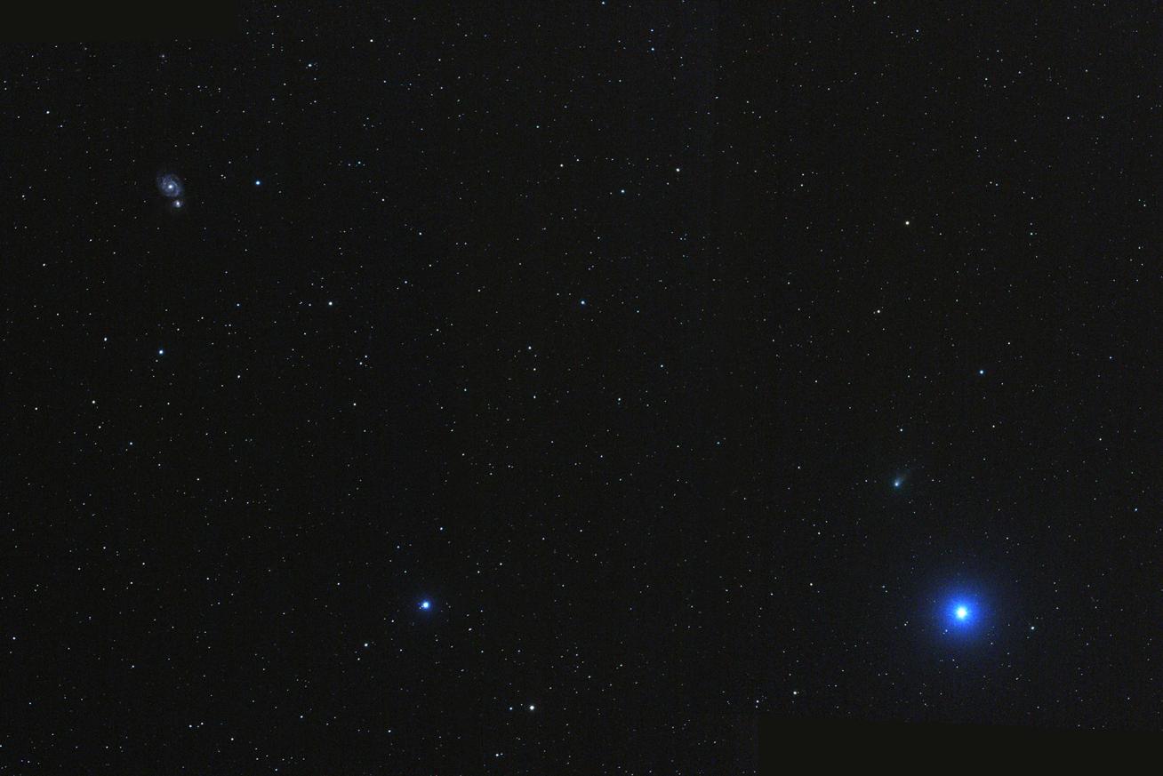 kometa K1 LINEAR u M51