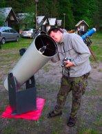 Pozorování amatérskými dalekohledy Autor: Martin Mašek