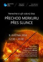 Pozorování přechodu Merkuru přes Slunce 9. května 2016 na ondřejovské hvězdárně. Autor: Astronomický ústav AV ČR