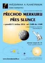 Pozorování přechodu Merkuru přes Slunce 9. května 2016. Autor: HaP ČB.
