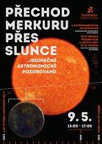 Pozorování přechodu Merkuru přes Slunce 9. května 2016 v plzeňské Techmánii. Autor: Techmania Science Center.