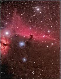 Komplex mlhovin v okolí 'Koňské hlavy' v Orionu. Autor: Zdeněk Bardon