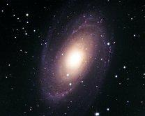 Galaxie M 81 Autor: Pavel Cagaš a Kamil Hornoch