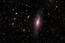 Galaxie NGC7331. Autor: Pavel Cagaš