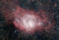 Mlhovina M8 Laguna. Autor: Dalibor Hanžl