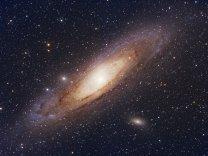 Galaxie M31 v Andromedě. Autor: Martin Myslivec
