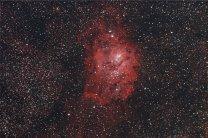 Mlhovina M8. Autor: David Kraft