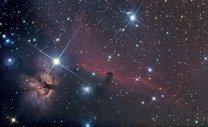 Altitak: Okolí hvězdy Alnitak v souhvězdí Oriona. Autor: Jan Hovad